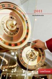 Jahresbericht 2011 (pdf, 1968 KB) - Casinos Austria