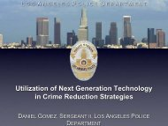 Utilization of Next Generation Technology in Crime Reduction ...