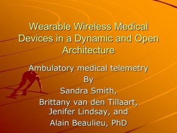 Wearable Wireless Medical Devices in a ... - Queen's University