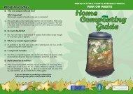Home Composting Guide - Merthyr Tydfil County Borough Council