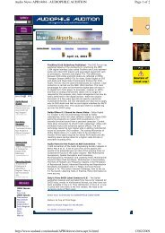 Page 1 of 2 Audio News APR14/04 - AUDIOPHILE AUDITION 13/02 ...