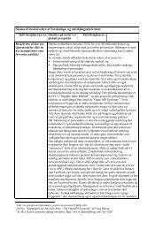 Skema til beskrivelser af forsknings- og udviklingsaktiviteter