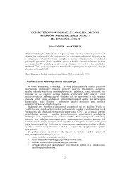 Komputerowo wspomagana analiza jakości wyrobów na ... - PTZP