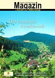 Der Landkreis Freudenstadt - PR Presseverlag Süd GmbH