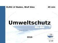 Umweltschutz - Alex-weingarten.de