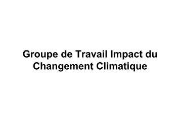 IMPACT DU CHANGEMENT CLIMATIQUE - Africa Adapt