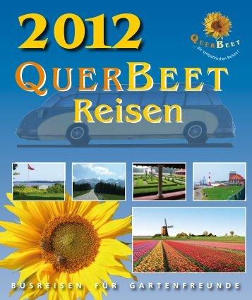 Katalog 2012 - QuerBeet reisen