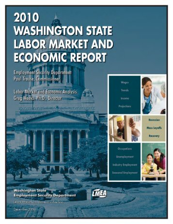 2010 Washington State Labor Market and Economic Report