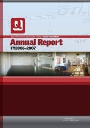 Annual Report - Queen Street Studio