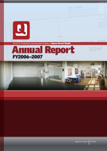 Annual Report - Queen Street Studio
