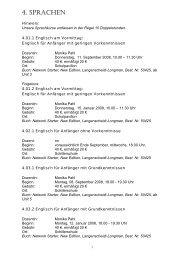 4. SPRACHEN - Verbandsgemeinde Bad Ems