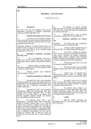 Doplněk S - Letecká informační služba