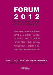 FORUM 2012 - Jochen Stenschke