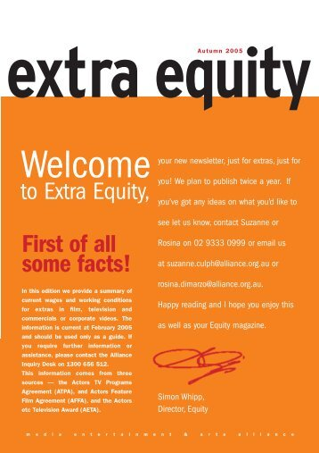 extra equity