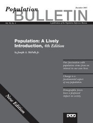 A Lively Introduction, 4th Edition - Population Reference Bureau