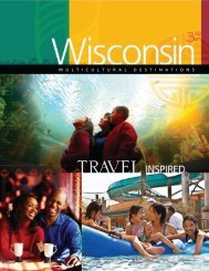 MULTICULTURAL DESTINATIONS - Wisconsin Department of ...