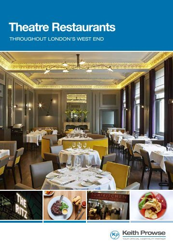 Theatre Restaurants - Keith Prowse