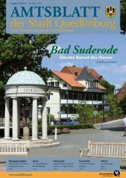 Bad Suderode - Quedlinburg