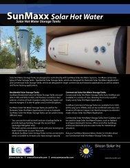 SunMaxx Solar Hot Water