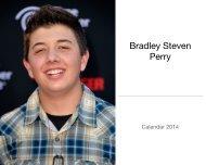 Bradley Steven Perry Calendar 2014