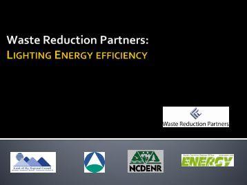 Lighting Energy Efficiency - NC Project Green