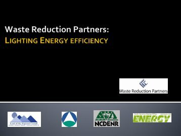 Lighting Energy Efficiency - NC Project Green