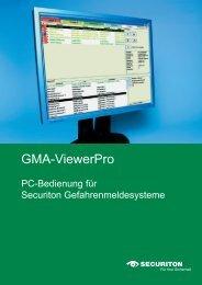 Flyer GMAViewer.indd - Securiton GmbH