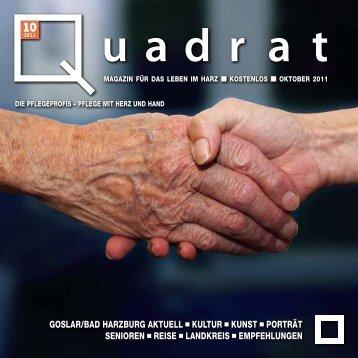 oktober 2011 - Herzlich Willkommen bei Quadrat
