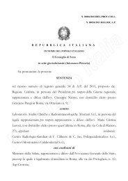 Clicca qui per visualizzare la sentenza [file pdf] - FederLab Italia