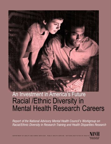 Racial /Ethnic Diversity in Mental Health Research Careers