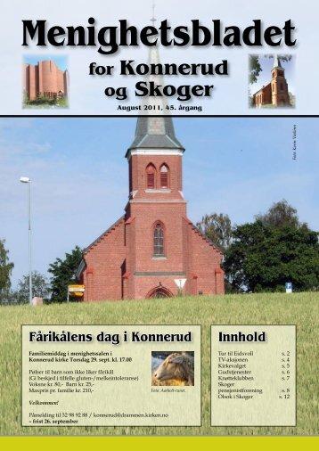 Menighetsbladet 03/11 - Den norske kirke i Drammen