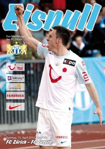 FC Luzern - FC Zürich