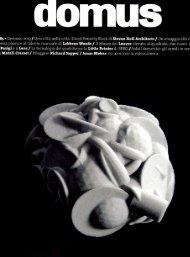 3D SURFACE su Domus gennaio 2013 - Spa Design