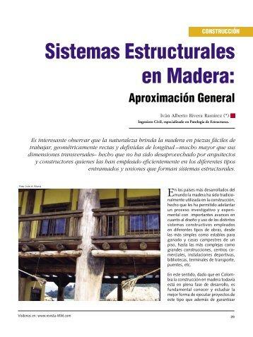 Construcción Sistemas Estructurales en Madera - Revista El Mueble ...