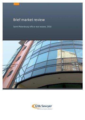 Retail real estate market, St. Petersburg, 2010 - GVA Sawyer