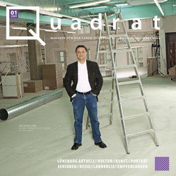 Magazin Für Das Leben In Lüneburg • KostenLos • März - Quadrat