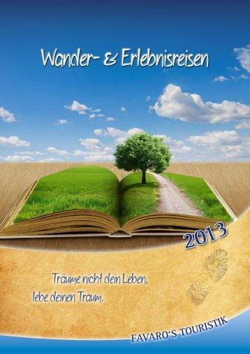 Wander- & Erlebnisreisen - Favaro's Touristik