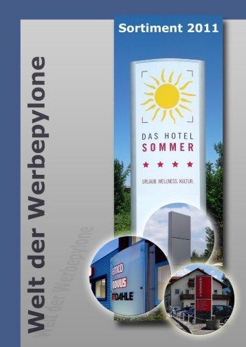Katalog Schuster Werbesysteme 2011 klein