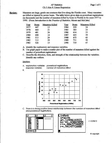 ap statistics ch 3 sec 1 Advanced placement statistics ap® is a rigorous academic program built on the commitment, passion and hard work of students and educators from both secondary schools and higher education  chapter 8 section 1 part 3 (file) chapter 82 notes chapter 8 section 2 (file) binomial probability practice.