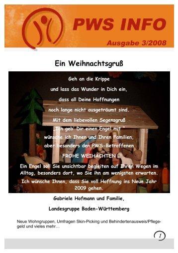 Leben Betreutes Wohnen - bei Prader Willi Syndrom Vereinigung ...