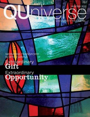WINTER 2012 - Quincy University