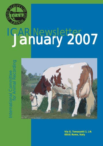 ICAR Newsletter January 2007