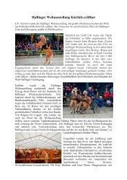 Haflinger Weltausstellung feierlich eröffnet - Haflinger Tirol