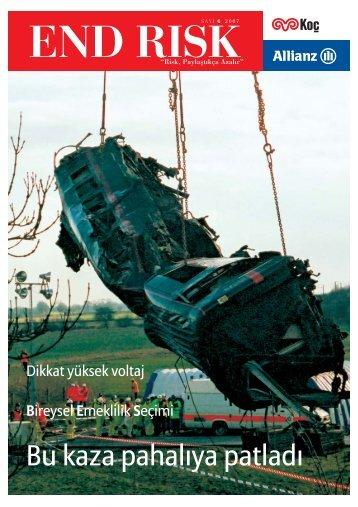 End Risk Dergisi, Sayı 6 - Allianz Emeklilik