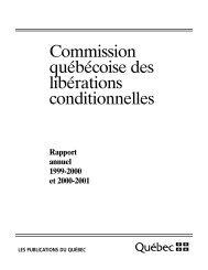 Commission québécoise des libérations conditionnelles