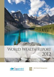 2012 World Wealth Report - Art Market