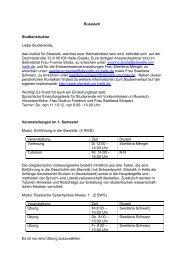 Russisch Studienstruktur Liebe Studierende, das Institut für Slawistik ...