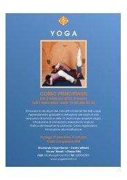 CORSO PRINCIPIANTI - Sivananda Yoga Firenze