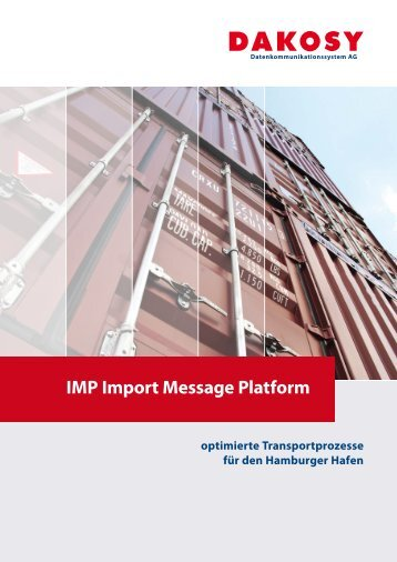 IMP Import Message Platform - DAKOSY ...