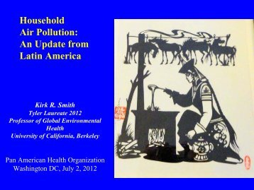 Presentation, pdf - Environmental Health Sciences, UC Berkeley ...